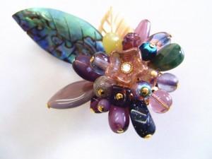黒蝶貝のブローチ